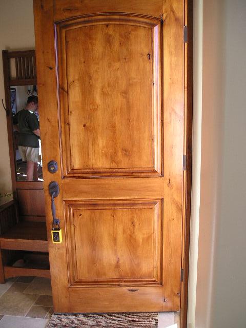 Alder entry door & Black Canyon Studios - Entry Door Units